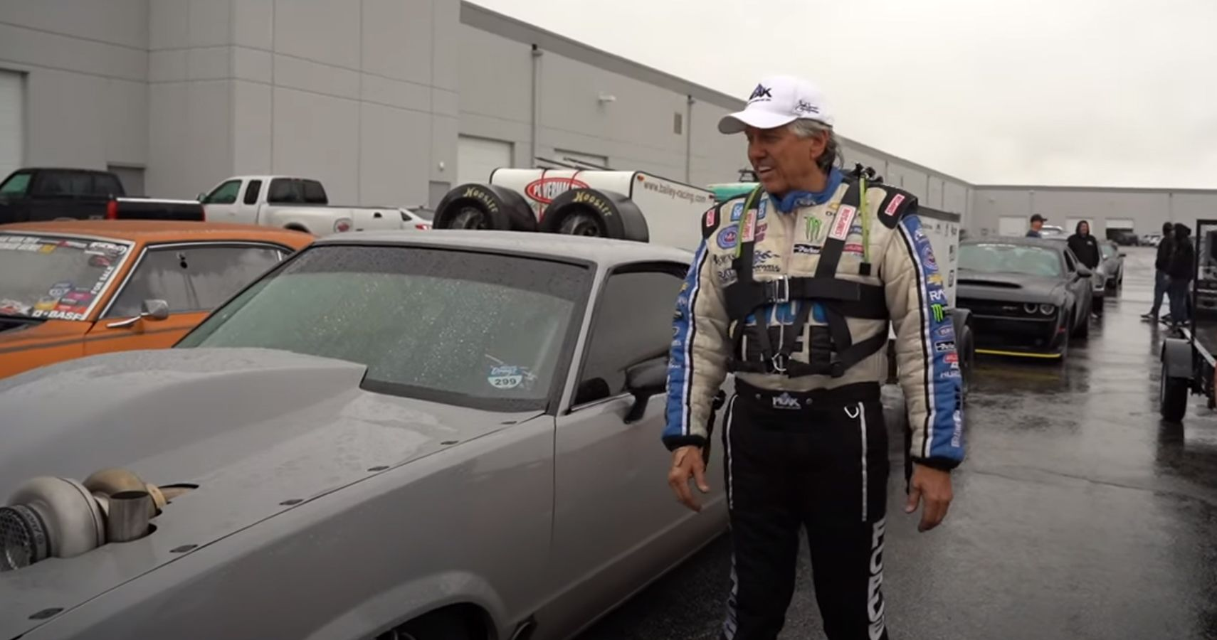 John Force Accidentally Touched A Hot Turbocharger And Had The Perfect Response