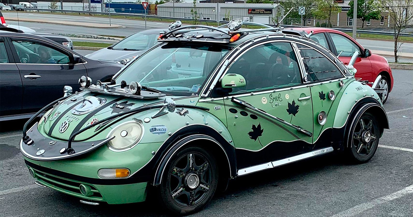 This Modified Volkswagen Beetle Raises So Many Questions